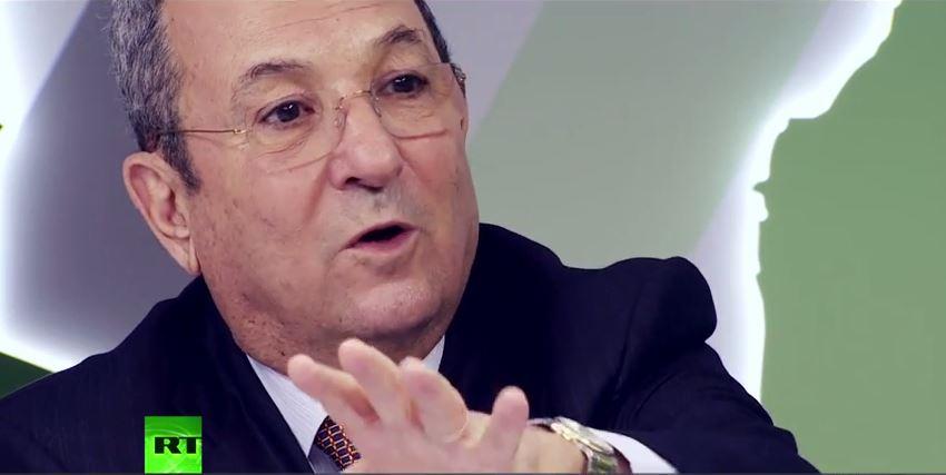 Ehud Barak, von 2007 bis 2013 israelischer Verteidigungsminister (Screenshot: RT)
