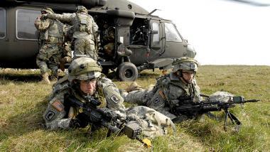NATO-Kriegsspiele im Baltikum