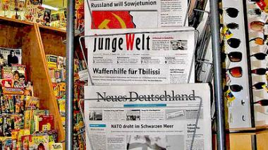 Besonderes Angriffsziel der CIA: Linke Medien in Deutschland. Foto:  Karl-Ludwig Poggemann. CC BY 2.0