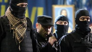 Der Anführer des Rechten Sektors Dimitri Jarosch - Quelle: Ruptly