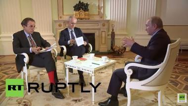 Putin im Interview: Nur ein Verrückter kann sich vorstellen, dass Russland die NATO angreift