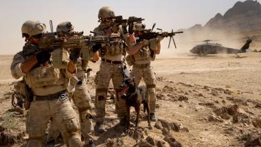 Navy SEALs im Einsatz. Foto Quelle: navyseals.com
