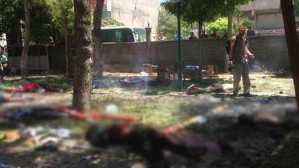 Schwerer Bombenanschlag auf türkische Grenzstadt Suruç - Sicherheitskräfte sehen IS als Täter