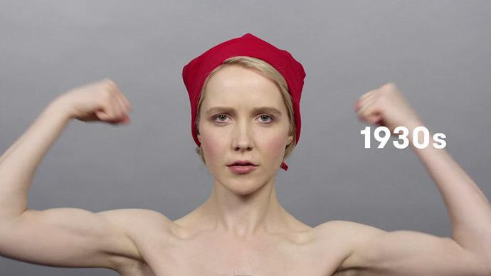 Wandel der russischen Haarmode im Laufe eines Jahrhunderts in Video verewigt