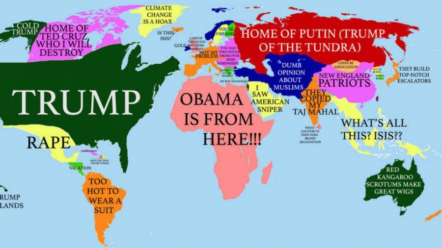 """""""Afrika gleich Obama"""": Die absurde Welt des US-amerikanischen Multimilliardärs Donald Trump"""