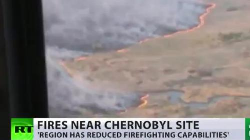 Erneuter Großbrand um Tschernobyl-Sperrzone – Experten warnen: Konzentration an Cäsium 137 steigt signifikant
