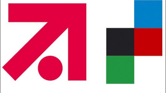 Die Logos der beiden Medienkonzerne. Bald vereint? Quelle: screenshot turi2.de