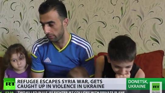 Von einem ins andere Kriegsgebiet - Syrische Flüchtlinge in der Ostukraine