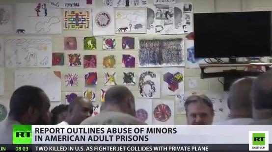 USA: Kinder und Jugendliche in Erwachsenen-Gefängnissen misshandelt