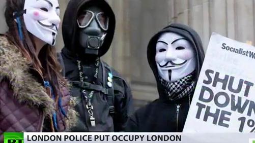 Occupy Terror? Britische Polizei stellt Kapitalismuskritiker in eine Reihe mit Al-Kaida und IRA