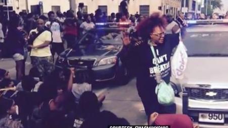 Afroamerikanischer Konvent gegen Polizeigewalt wird von Polizei angegriffen