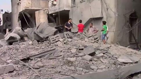 Amnesty International sammelt Beweise israelischer Kriegsverbrechen im letzten Gaza-Krieg