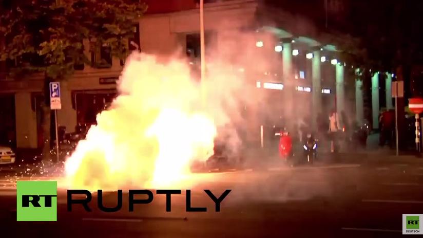 Den Haag: Seit Tagen heftige Proteste nach Tötung eines Mannes durch Polizeigewalt