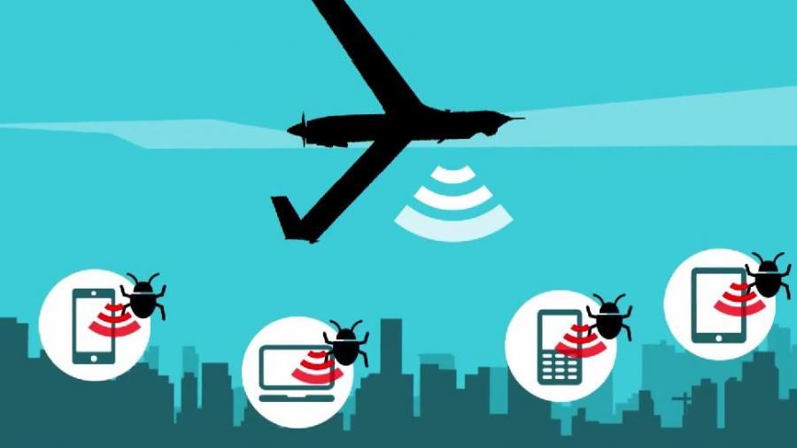 Big Brother im Himmel? WikiLeaks: US-Drohnen versenden großflächig Spionagesoftware auf Computer und Mobiltelefone