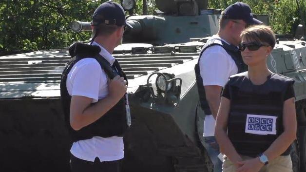 OSZE bestätigt einseitigen Waffenabzug der ostukrainischen Milizen von der Demarkationslinie