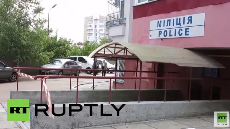 Westukraine: Doppelanschlag auf Polizeistation – Rechter Sektor unter Verdacht