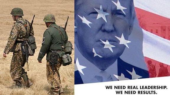 """""""Für echte Führerschaft"""" - US-Präsidentschaftskandidat Trump twittert Foto mit Soldaten der Waffen-SS"""