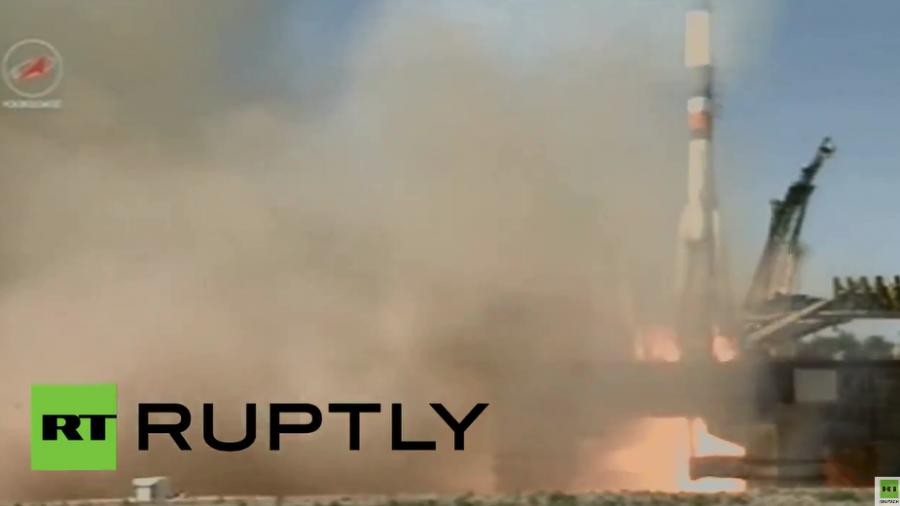 Start von Versorgungsflug zur Raumstation ISS aus Russland gelungen