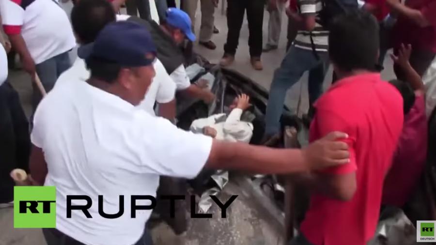Mexiko: Rivalisierende Taxifahrer liefern sich Straßenschlacht – mindestens neun Verletzte