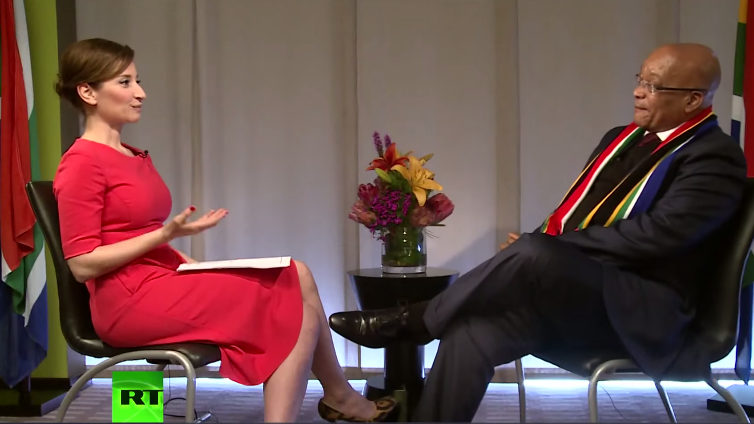 Was sind und wollen die BRICS? Jacob Zuma, Südafrikas Präsident, zu Gast bei Sophie&Co