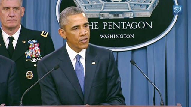 """Freudscher Versprecher von Obama: """"Wir beschleunigen die Ausbildung von IS-Kräften im Irak"""""""