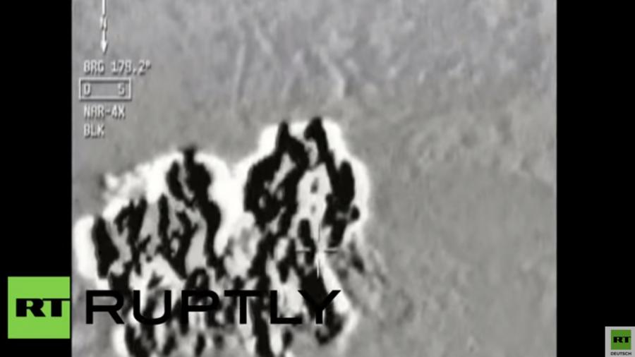 Die ersten Luftangriffe der Türkei auf IS- und PKK-Stellungen in Syrien