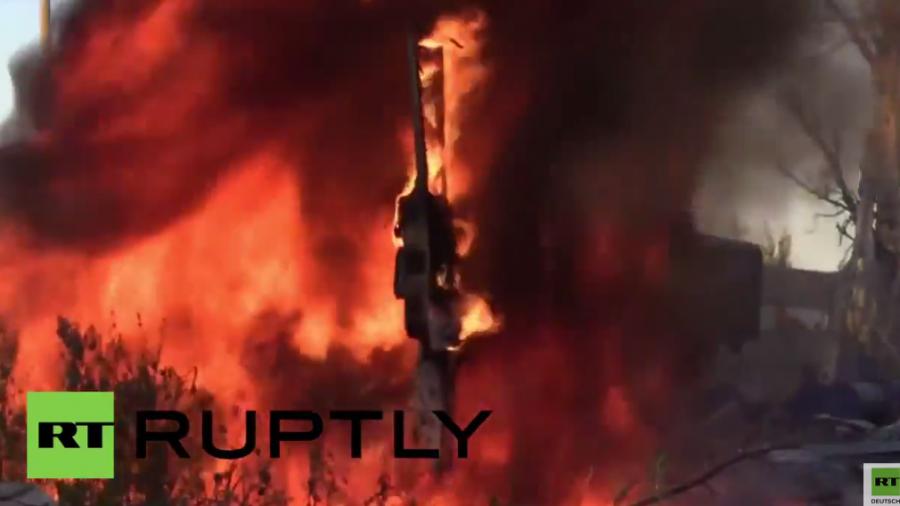 Kämpfe in der Ostukraine halten an – Donezk wieder täglich unter Beschuss