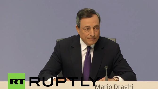 Live: EZB-Präsident Draghi gibt Pressekonferenz zur Griechenlandkrise