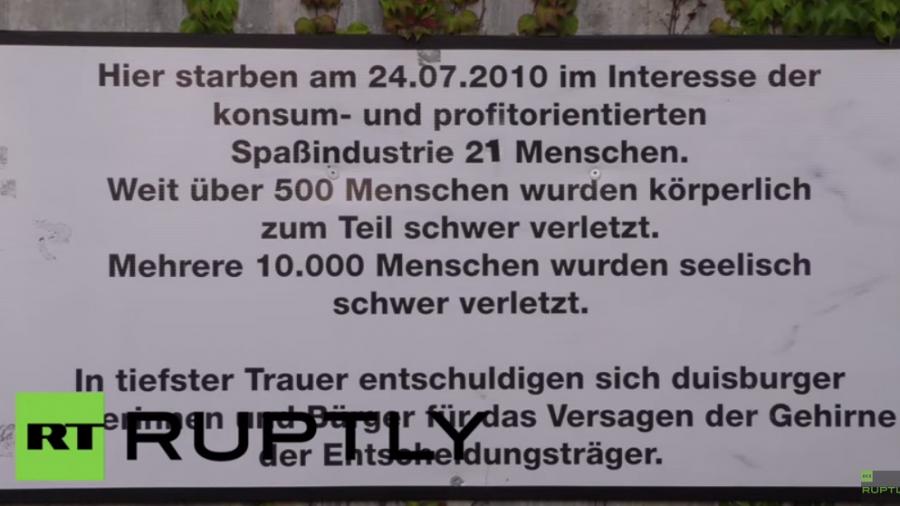 Duisburg: Gedenkfeier fünf Jahre nach der Loveparade-Tragödie