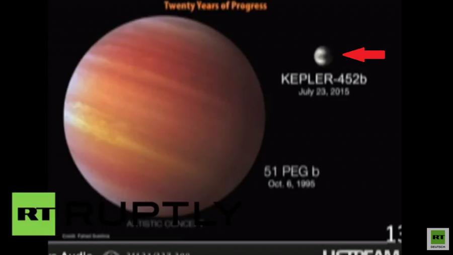 """NASA gibt kurzfristig Pressekonferenz: """"Meilenstein gelungen"""" - Cousin der Erde entdeckt"""