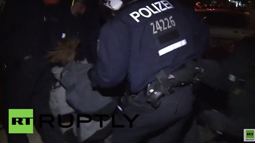 Berlin: Eskalation bei linksalternativer Demonstration – mehrere Verhaftungen