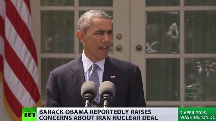 """Obama """"besorgt"""" - Chance auf Atomdeal mit Iran liege unter 50 Prozent"""