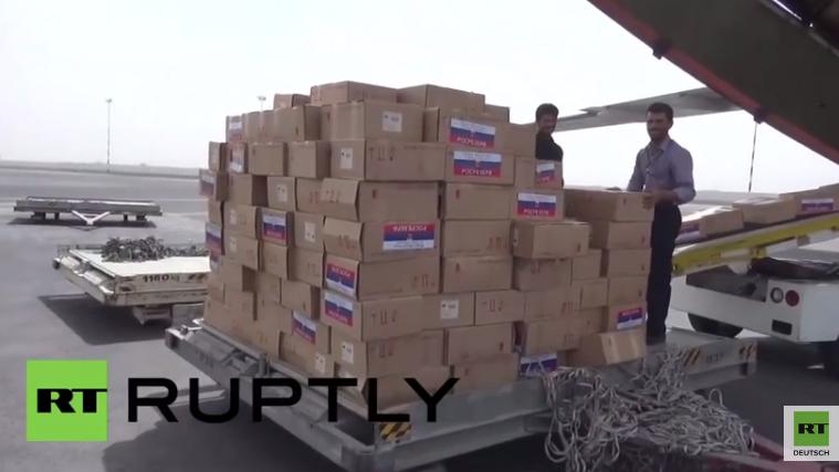 Russland sendet Flugzeuge mit humanitärer Hilfe in den Jemen