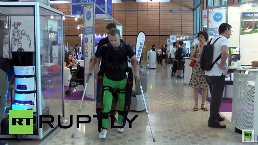 Diese russische Erfindung lässt kranke Menschen wieder laufen