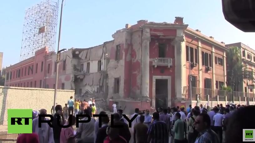 Ägypten: Heftige Explosion am italienischen Konsulat in Kairo tötet einen und verletzt mehrere