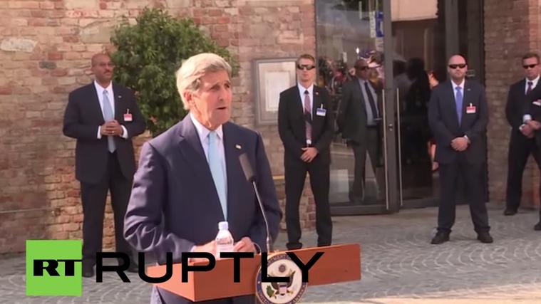 Live: John Kerry kommentiert Atomabkommen mit dem Iran