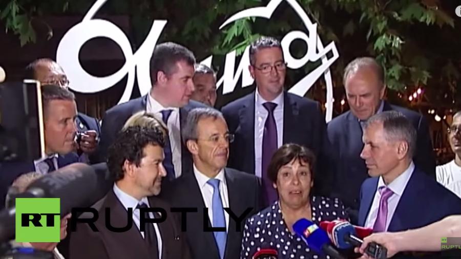 Live: Französische Delegation zu Besuch auf der Krim - Tag 2