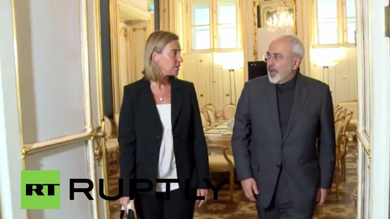 Live: Einigung bei Atomverhandlungen mit Iran – Pressekonferenz von Mogherini und Zarif