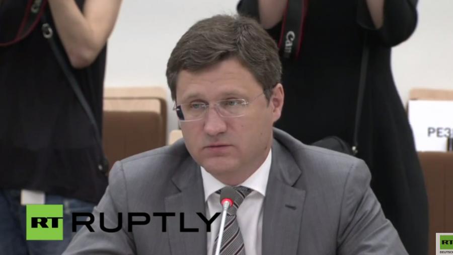 Live: Russischer Energieminister gibt Pressekonferenz nach Treffen  mit OPEC-Generalsekretär