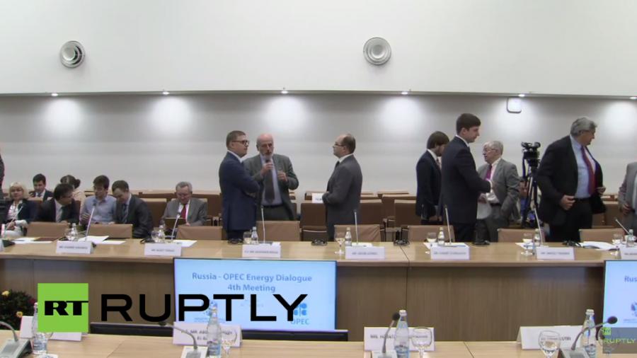 Live: Russischer Energieminister tauscht sich mit OPEC-Generalsekretär aus - englische Übersetzung