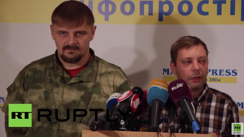 """Rechter Sektor: """"Wir können unsere Bataillone auch direkt zum Präsidenten schicken"""""""