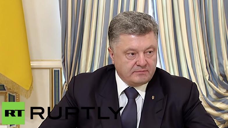 Poroschenko rechnet nach Mukatschewe-Schießerei mit dem Rechten Sektor ab