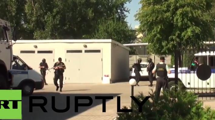 Höchste Sicherheitsstufe bei Anhörung von ukrainischer Kampfpilotin Nadija Sawtschenko