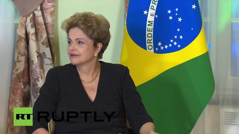Rousseff lehnt westlichen Sanktionen gegen Russland ab - Brasilianische Präsidentin im RT-Interview
