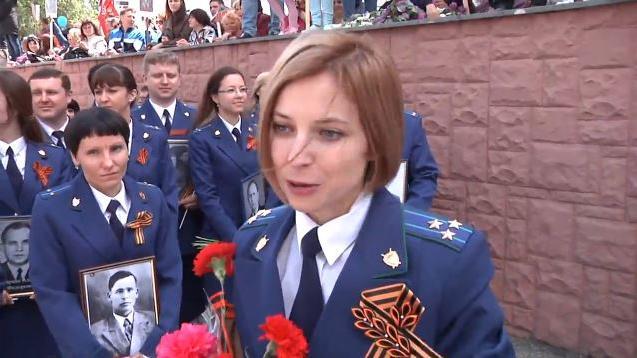 Star-Generalstaatsanwältin Poklonskaya soll 2016 für die Staatsduma kandidieren