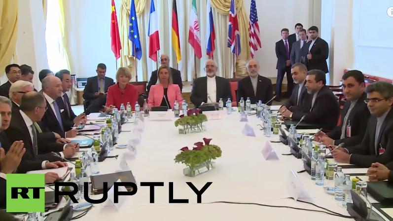 Live: Einigung bei Atomverhandlungen mit Iran - Schlussprotokoll der Verhandlungssitzung