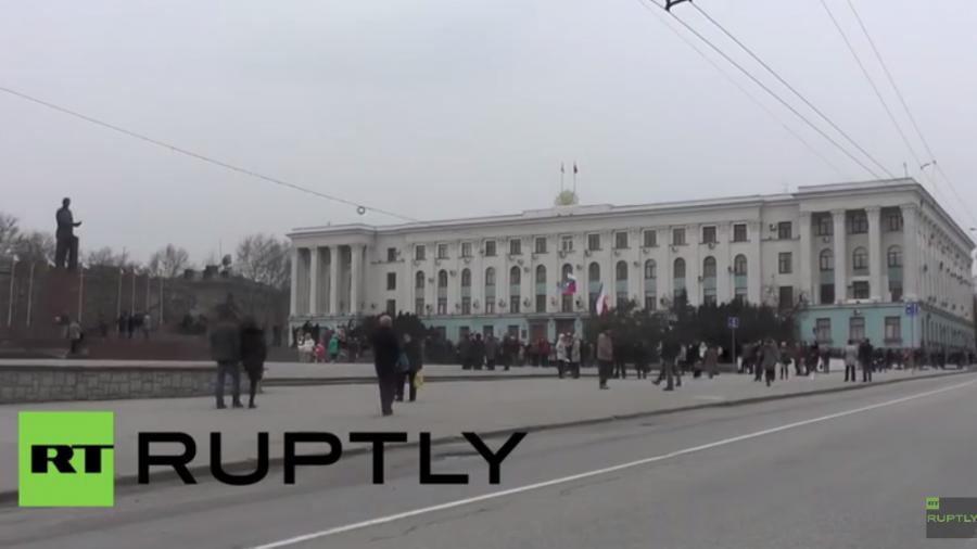 Live: Französische Parlamentarier-Delegation zu Besuch auf der Krim