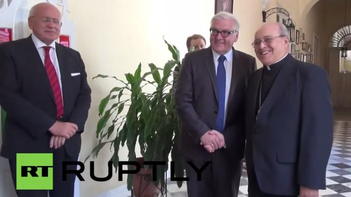 Steinmeier als erster bundesdeutscher Außenminister in Kuba