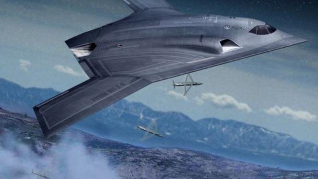 B-3 Vorschlag von Northrop Grumman     Quelle: Breakingdefense/Northrop Grumman