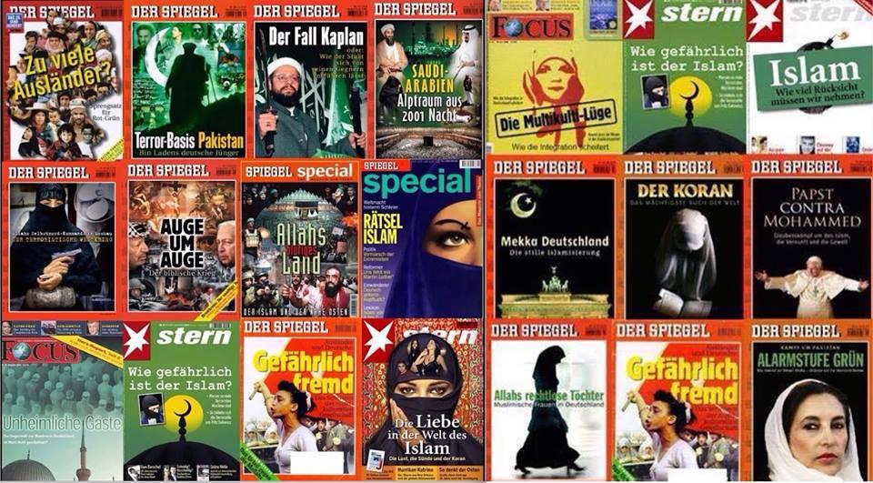 """Feindbild Islam: Die """"Lügenpresse"""" ganz vorne dabei."""